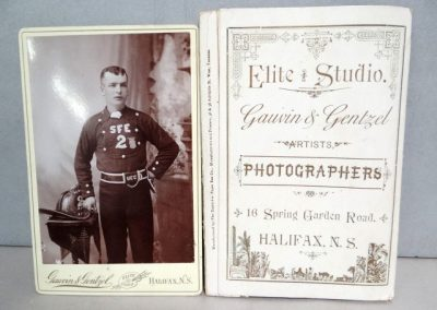 Lot 348 Rare pic of Halifax Fireman
