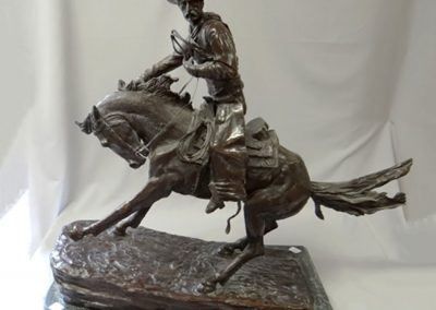 Lot-108-The-Cowboy-bronze-24.5-in-h