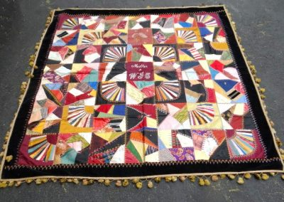 Lot-338 Nova Scotia Crazy Quilt 63x63