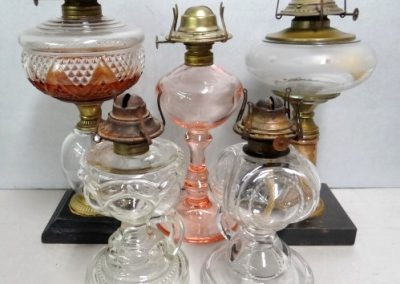 Misc oil lamps