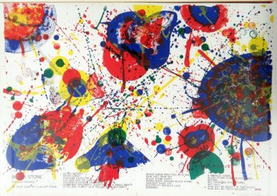 Lot-221a Sam Francis from a 1 cent life