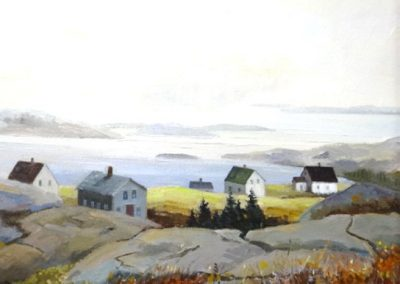 Lot-246 Joan Dewar ob 16x20