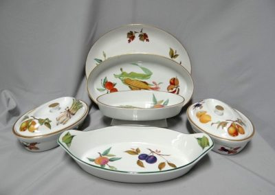 Lot-318 Royal Worcester Evesahm