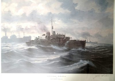 Lot-037 HMCS Sackville Ltd Edition 26x32