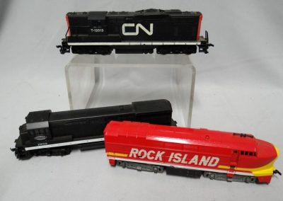 Lot-136 misc model trains