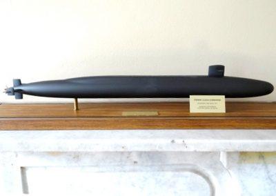 Lot-334-General Dynamics presentation model submarine