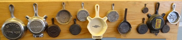 Lot-406 Miniature advertising frying pans