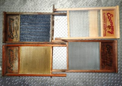 Lot-211 4 full size washboards