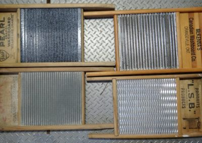Lot-212 4 full size washboards