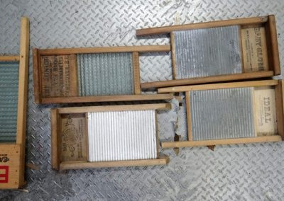 Lot-226 4 small washboards