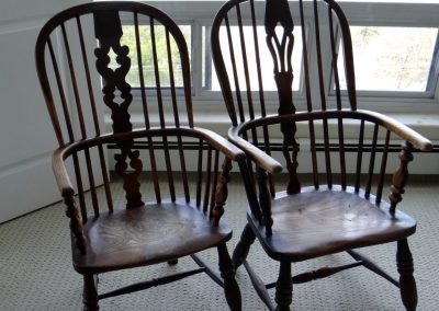 Lot-641 Thames Valley chairs c 1830