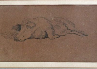Lot-032 Horatio Walker 3x5.5 in (1) from Blair Laing Gallery
