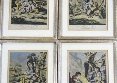 Lot-063 (4) 18th cent 9x7