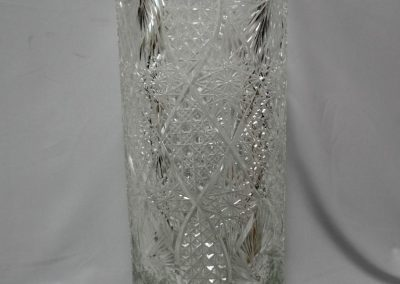 Lot-168 crystal umbrella stand 19.5 in h