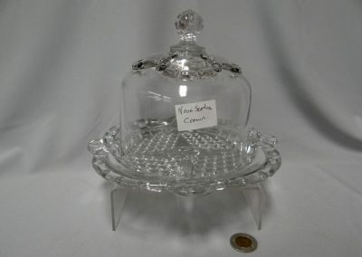 Lot-170 Nova Scotia glass Crown Pattern
