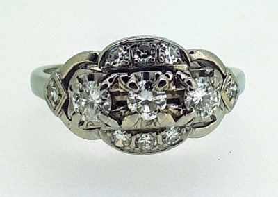 Lot-496 18ct & diamonds app value $2850