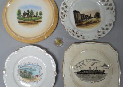 Lot-448 N.S souvenir plates